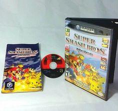 Super Smash Bros. Melee Gamecube Game