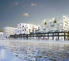 156 logements, ZAC du Port, Pantin (93) - Nexity (Ensemblier Urbain - Antonini Darmon