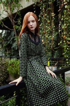 Madison Stubbington for Orla Kiely Fall Winter 2015
