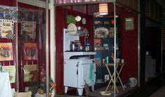 Ariah Park. Kitchenalia. Vintage, retro kitchen items.
