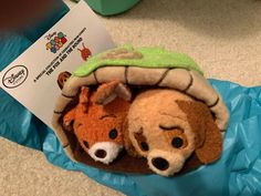 Disney Store Tsum Tsum The Fox And The Hound Subscription Box March 2017 w/Tags   Collectibles, Disneyana, Contemporary (1968-Now)   eBay! Plush Dolls, Doll Toys, Disney Store Toys, Tsum Tsums, Winnie The Pooh Plush, Big Plush, Marie Aristocats, Disney Tsum Tsum, Brown Babies