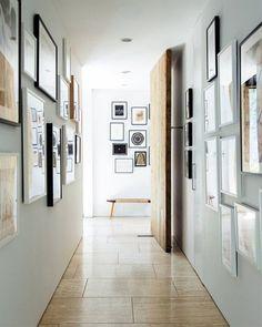 ideas para decorar pasillos estrechos y que dejen de ser tenebrosos