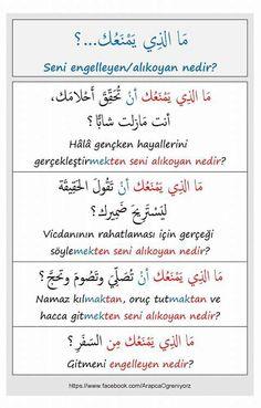 . Learn Turkish Language, Arabic Language, English Vinglish, Learn English, Turkish Lessons, Arabic Alphabet For Kids, Language Quotes, Islam Facts, Learning Arabic