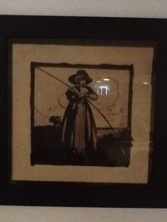 """William Nicholson, watercolor circa 1900, possible early study for """"An Almanac of Twelve Sports"""""""
