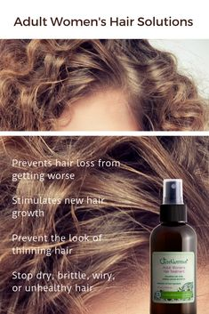 It is natural for the hair to thin as one gets older, from middle age starting around age forty. At this age the follicle size begins to narrow and the hair becomes much thinner. Curly Hair Styles, Natural Hair Styles, Color Rubio, New Hair Growth, Hair Loss Women, Hair Regrowth, Hair Repair, Tips Belleza, Hair Health
