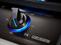 36 inch Chef Collection Gas Cooktop with BTU Dual Power Burner in Matte Black Stainless Steel Cooktop - Microwave Combination Oven, Tech Image, Ventilation Hood, Cast Iron Griddle, Fire And Stone, Gas Supply, Single Wall Oven, Blue Led Lights, Smart Home Technology