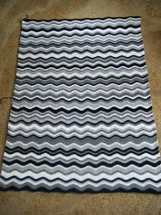 Betsy Makes ....: Zebra Blanket