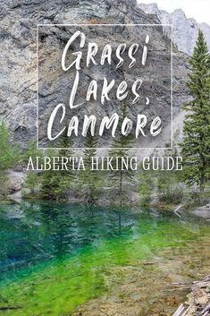 Just a short distance away from Banff and Calgary, Grassi Lakes is a quick and free hike located in the Kananaskis near Canmore, Alberta. It's suitable for all ages and has great scenery including waterfalls and two perfectly clear lakes. #canada #alberta #hiking #canmore #banff Alberta Canada, Banff Canada, Canadian Travel, Canadian Rockies, Calgary, Vancouver, Alberta Travel, Canada Destinations, Hiking Guide