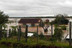 Más de 200 evacuados en Santo Tomé, Corrientes