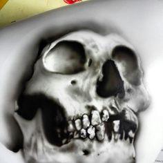 Skull Airbrush