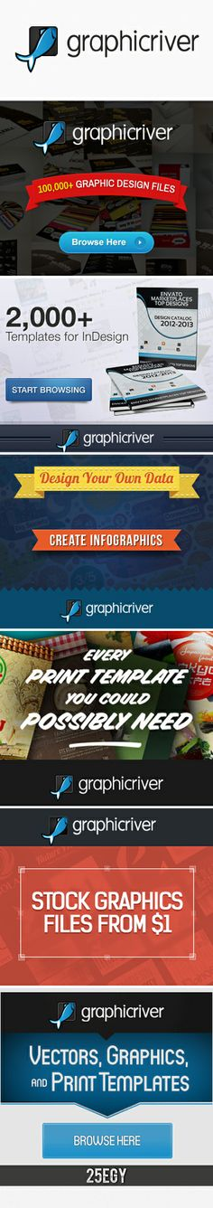 GraphicRiver is an Envato Marketplace. At GraphicRiver you can buy and sell royalty-free, layered Photoshop files, vectors, icon packs, Adobe add-ons and design templates for just a few dollars. Items are priced on the complexity, quality and use of the file. The site is home to a bustling community of graphic designers and illustrators. http://graphicriver.net/user/25EGY?ref=25EGY