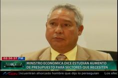 El Ministro de economía estudia aumento de presoupuesto a los sectores que lo necesiten