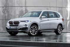 2018 BMW X7 renderings show a sleek design - http://www.bmwblog.com/2016/09/14/bmw-x7-rendered-design/
