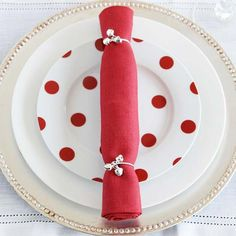 Christmas Cracker Napkin