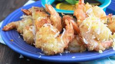 We used Bisquick to create a crispy tempura batter for coconut shrimp that can be ready in only 30 minutes. Serve with a sweet and tangy dipping sauce made with orange marmalade, apricot preserves and soy sauce.