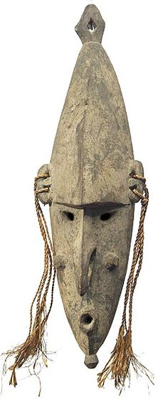 Lower Sepik River Mask