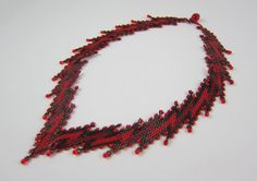Collier zigzag peyotl by CHARMATIONS   Etsy
