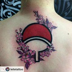 Naruto Tattoo, Beautiful Tattoos, Cool Tattoos, Tatoos, P Tattoo, Piercing Tattoo, Naruto Fan Art, Piercings, Unique Makeup