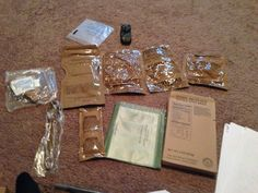 RIXWRITES: Zombie Training 2 Meals, Ready Eat As shown to me by Marine Sergeant Steve, Gift Wrapping, Training, Meals, Gifts, Gift Wrapping Paper, Coaching, Presents, Meal, Fitness Workouts