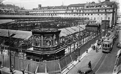 Demolição do Mercado da Praça da Figueira - 1949
