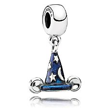 Mickey Mouse ''Mickey's Sorcerer's Hat'' Charm by PANDORA (hoping husband got this before it sold out)