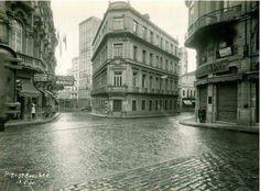 Rua Domingos de Moraes na Vila Mariana em 1930
