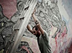 2501  è uno degli ospiti di ALTrove - Street Art Festival che dal 9 giugno torna a Catanzaro. #ospiti #anteprima #foto #video nel nostro #PrimoPiano