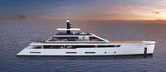 Luiz De Basto yacht designer - Quartz 55 metros