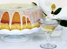 Lemon-and-Orange-Glazed Pound Cake - Breakfast Pastries on Food & Wine Fall Dessert Recipes, Fall Desserts, Desert Recipes, Christmas Desserts, Just Desserts, Easter Desserts, Brunch Recipes, Holiday Cakes, Christmas Recipes