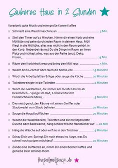 Putzplan – ein wenig Ordnung im Chaos Cleaning plan - Yes, we have a cleaning plan. With three dogs and full-time jobs, it's our weapon against daily chaos! Deep Cleaning Tips, House Cleaning Tips, Spring Cleaning, Cleaning Hacks, Genius Ideas, Cleaning Painted Walls, Glass Cooktop, Clean Dishwasher, Toilet Cleaning