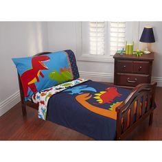 Carter's 4-pc. Prehistoric Pals Toddler Bedding Set, Multicolor