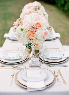 Daily Wedding Inspiration: Tasteful and Elegant Wedding Reception Décor Cute Wedding Dress, Fall Wedding Dresses, Elegant Wedding, Our Wedding, Dream Wedding, Trendy Wedding, Wedding Flowers, Wedding Colors, Wedding Bells