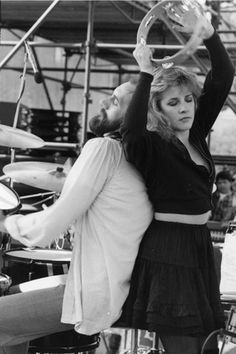 Stevie Nicks and Mick Fleetwood