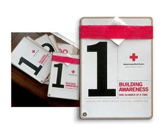 Built to Heal - A Regional Addy-award winning piece, the Rutherford County Chapter of the American Red Cross capital campaign brochure was a powerful design that resulted in an overwhelming success.