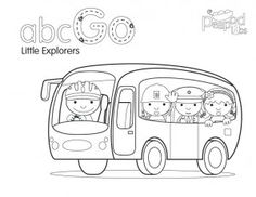 coloring pages for transportation units - photo#45