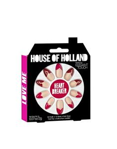 Image 4 ofHouse Of Holland Nails By Elegant Touch - Heart Breakers