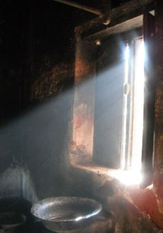 Sunlight through a window, India.  Photographer: Sona Lise Bose  #photography