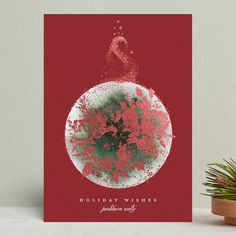 Christmas And New Year, Christmas Themes, Christmas Decorations, All Holidays, Christmas Holidays, Holiday Cards, Christmas Cards, Bauble, Festive