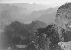 Grand Canyon National Park, photographed by Ansel Adams.