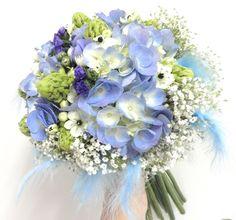 bouquet de novia azul - Buscar con Google