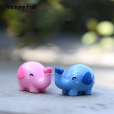 Micro garden decoration Cute Lovers Elephant model ornaments toys //Price: $17.78 & FREE Shipping //     #vegetable