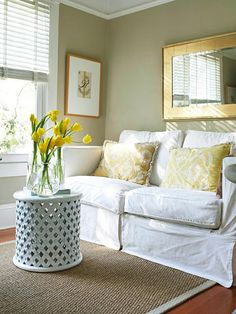Small Home Decorating & Solutions 2013 Ideas   like couch but need bigger and different color
