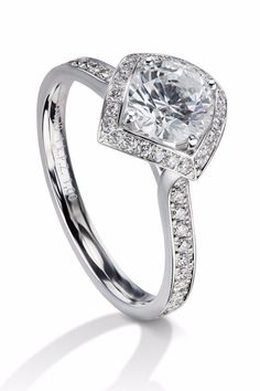 065fda905c3 Furrer Jacot Lucienne Diamond Platinum Semi-Mount Ring. Platinum JewelryPlatinum  RingWedding ...