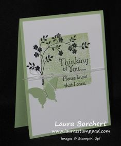 Technique Tuesday – Coloring with Your Clear Blocks! Cards For Friends, Friend Cards, Stamping Up Cards, Prayer Cards, Get Well Cards, Butterfly Cards, Card Tutorials, Card Sketches, Sympathy Cards