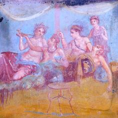 Pompeii- The house of the chaste lovers