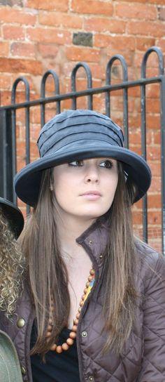 Peak & Brim Designer Hats, Rain Hat, Navy Hat, Cloche Hat, One Size, New, Hats Designer Hats, Navy Hats, Rain Hat, Cloche Hat, Ebay, Cloche Hats