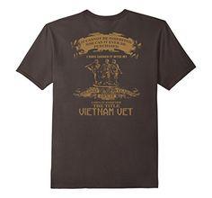 Men's Veterans - The title Vietnam veteran T-shirt 2XL As…