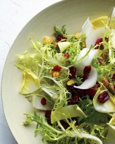 "Favoritt: See the ""Frisee Salad with Cranberries and Pistachios"" in our Thanksgiving Salad Recipes gallery"