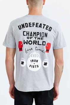 Undefeated Iron Fists Tee - Urban Outfitters