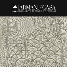 Italian fashion brands: Armani Casa exclusive textiles by Rubelli | Milan Design Agenda